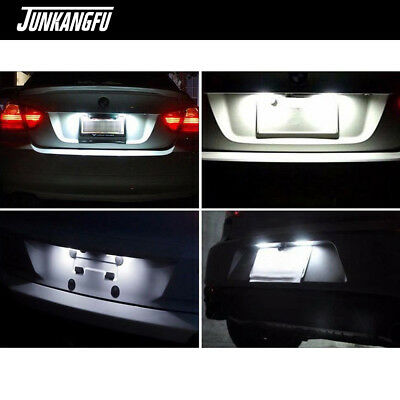 18 LED License Plate Light Direct Fit For Honda Civic Accord Acura TL TSX MDX