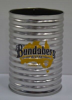 Bundy Rum Bundaberg Rum Brand New Insulated Metal Can Cooler Stubby Holder