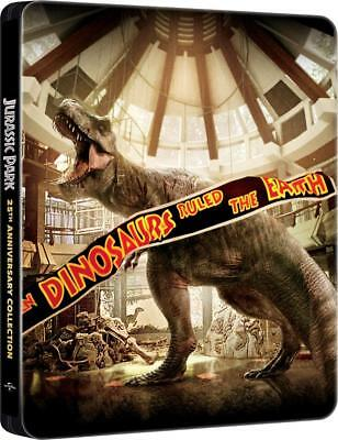 Jurassic Park Collection 1-4 -  Blu-ray Steelbook - NEW / SEALED - All Region