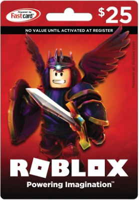 A Roblox Gift Card Physical Online 25 Dollar Value for Robux Fast Delivery Best!
