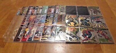 GIANT Lot of Marvel/X-Men/Spiderman Holograms/Specialty Cards! Take a Look!