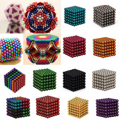 216Pcs 3mm 5mm Ball Decompression 3D Unlimited Cube Creations Combination Toy
