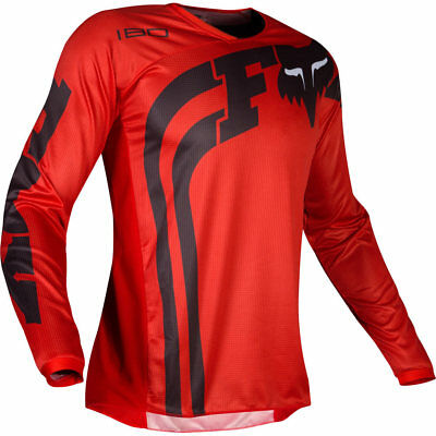 NEW Fox Racing 2019 Youth MX Gear 180 Cota Red Kids Dirt Bike Motocross Jersey