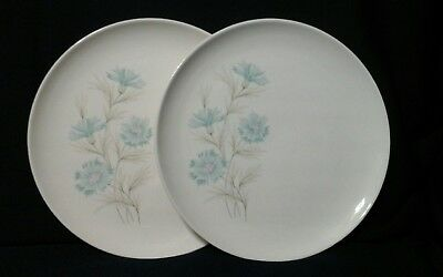 """TAYLOR, SMITH AND TAYLOR, Boutonniere, EVER YOURS 10""""  Dinner Plates Set of 2"""