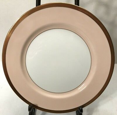 """Fitz and Floyd VERSAILLES-SHELL PEACH Dinner Plate 10 1/4"""" NEW"""