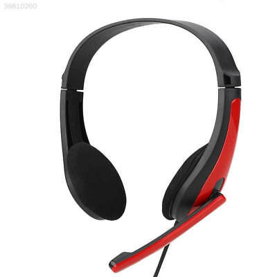 3.5mm Wired Stereo Headset Headphone Earphone With Mic For Phone Notebook