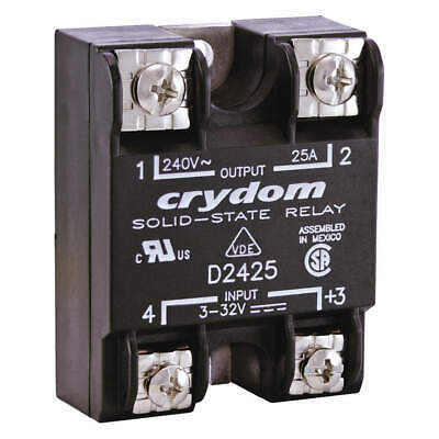 CRYDOM Solid State Relay,In 3 to 32VDC,50, D2450