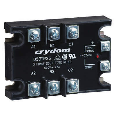 CRYDOM Solid State Relay,In 4 to 32VDC,50, D53TP50D