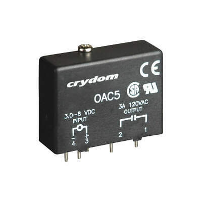 CRYDOM Out Module,In 3-8VDC,Out 12-140VAC,3.5A, OAC5