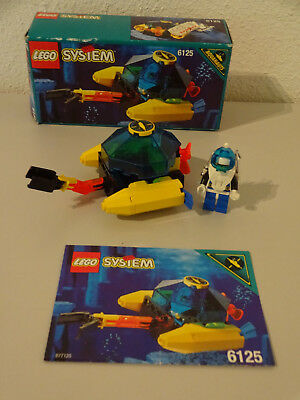 LEGO INSTRUCTIONS MANUAL BOOK ONLY 6125 Sea Sprint 9 x1PC