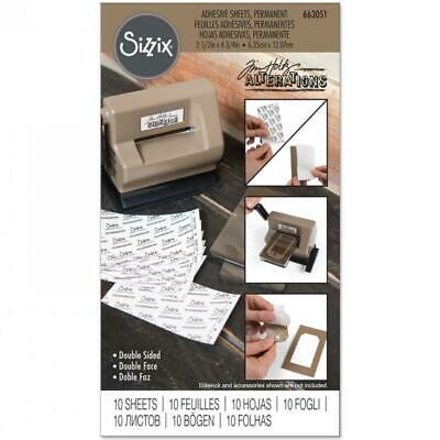 Tim Holtz Adhesive Sheets - 10 Pieces - NEW!