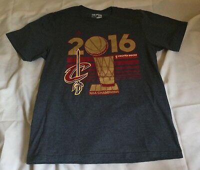 Mens Cleveland Cavaliers 2016 NBA Finals Champions Locker Room Tee Shirt  Lebron 4cac24e97