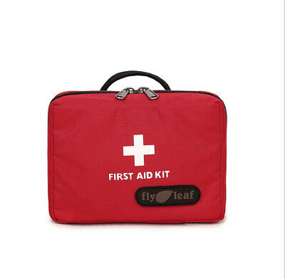 Outdoor Workplace First Aid Kit Survival Medical Bag Pouch Treatment Emergency