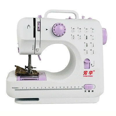 Multifunction 12Stitches Electric Overlock Sewing Machine Household Sewin Gift
