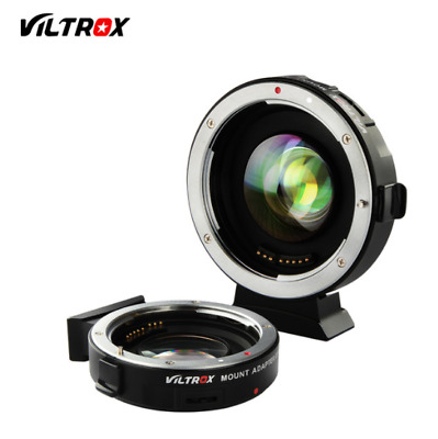 Viltrox EF-M2 Electronic Adapter F Booster 0.71x for Canon to M43 EF Lens to MFT