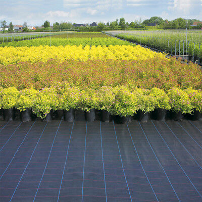 1/2/3/4m wide 100gsm weed control fabric ground cover membrane landscape mulch