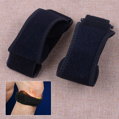 2x Adjustable Sport Gym Patella Tendon Knee Support Brace Strap Band Protector