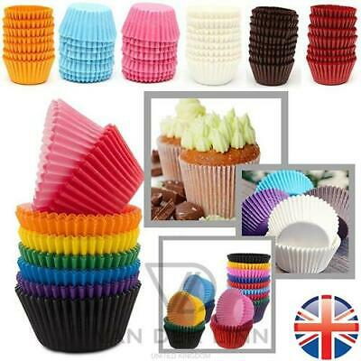 *UK Seller* PREMIUM QUALITY Paper Cupcake Muffin Cases Greaseproof Baking Cup