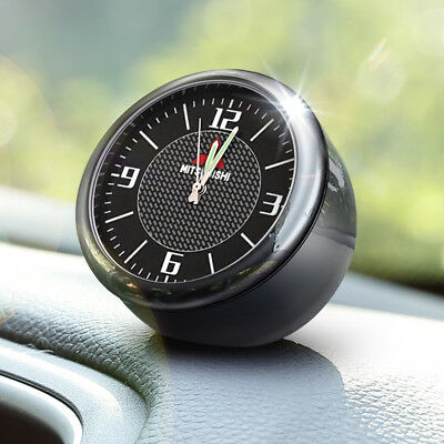 For Mitsubishi Vintage Car Electric Analog Quartz Clock Interior Ornaments Decro