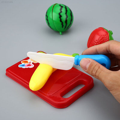 12Pcs Kitchen Cutting Fruits And Vegetables Colorful Toys Set For Kids Children