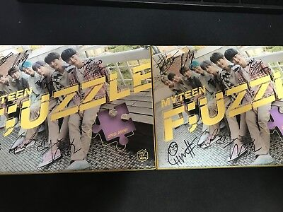 MYTEEN - [F;UZZLE] ALBUM Autograph(Signed) ALL MEMBER PROMO KPOP