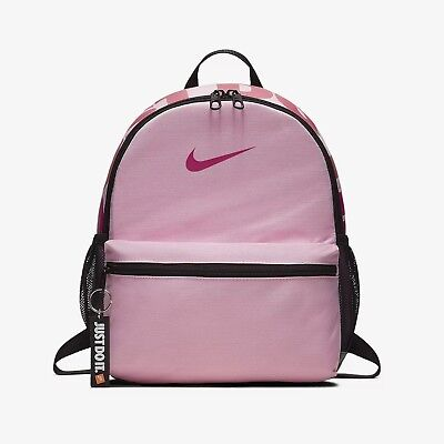 NIKE BRASILIA JUST DO IT ROSA Zaino Mini Zainetto Scuola Palestra BA5559-654 dc92d8714896