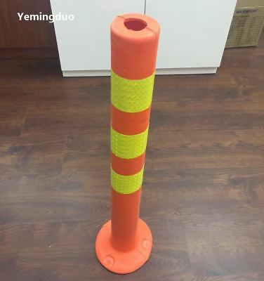 EVA Reflective Safety Standing Pillars Warning Reflective Plastic Road Sign