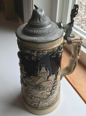 Antique Beer Stein MADE IN GERMANY FRENCH ZONE