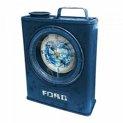 Ford Heritage Jerry Can Clock Gift Box Licensed Fathers Day