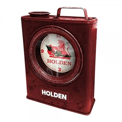 Holden Heritage Jerry Can Clock Gift Box Licensed Fathers Day