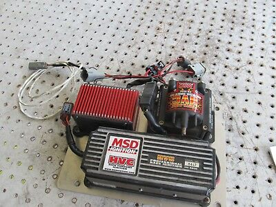 Nascar Hav Ignition Box Set Up With Coil And Rev Control All Plugs Mnt Plate