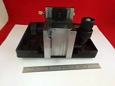 Microscope Part Reichert Microstar Specimen Table Stage Micrometer Bin#l8-A-03