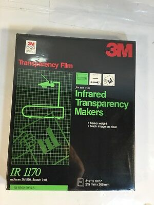 3M Ir1170 Transparency Film For Infrared Transparency Makers 3M 570 Scotch 7106