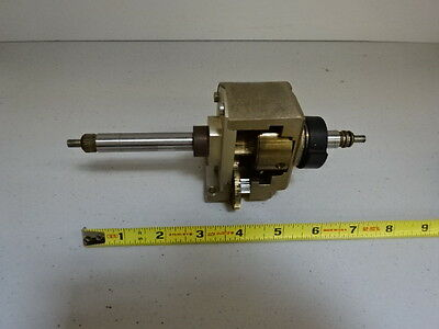 Microscope Part Polyvar Reichert Leica Stage Micrometer Assembly As Is #al-04