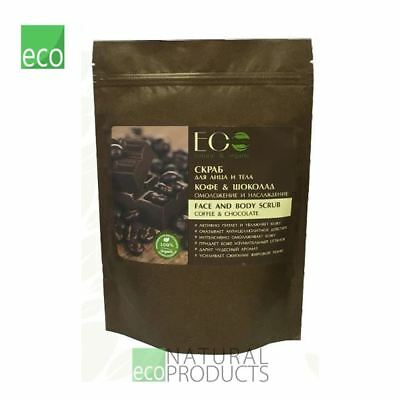 EO Laboratorie Natural Face Dry Body Scrub Coffee & Chocolate Anti-age 40g