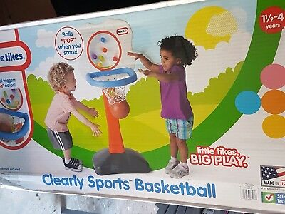 Little Tikes Clearly Sports Basketball