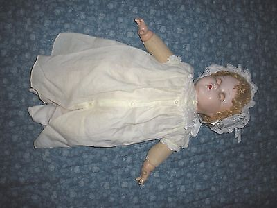 COMPOSITION MADAME ALEXANDER Doll 1920's 20 inch baby