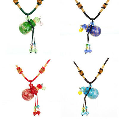 Necklace Glass Bottle Diffuser New Pendant Aromatherapy Necklace Essential Oil