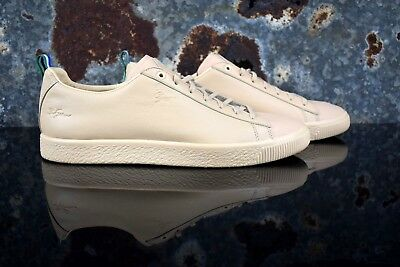 a4f69ffbc93 PUMA CLYDE BIG Sean Natural Vachetta 366253 01 Men s Shoes Size 13 ...