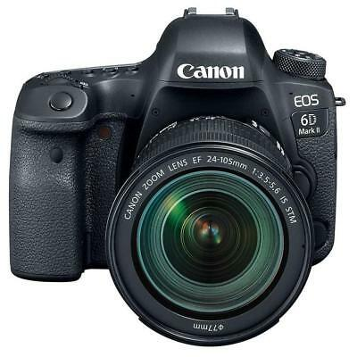 Canon EOS 6D Mark II DSLR with EF 24-105mm f/3.5-5.6 Lens