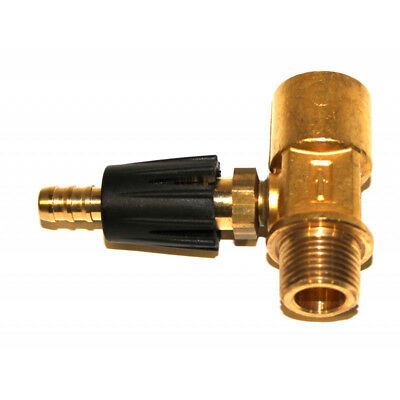 A-Plus 8.904-234.0 400 Series Chemical Injector M X F, Brass, Acid-Resistant, Si