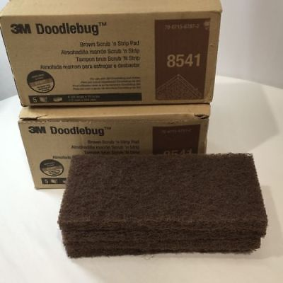 20 pcs. 3M Doodlebug Scrub'N Strip Pads  Cleaning - Painting  Free Shipping