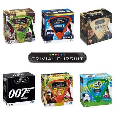Trivial Pursuit Bite Size Knowledge Game – New for 2018 – Choose Your Favourite!