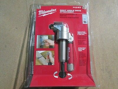 Milwaukee 49-22-8510 Right Angle Drill Attachment New In Package