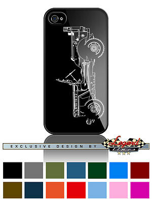 "Jeep Willys 1944 - 1945 WWII ""Profile"" Phone Case Apple iPhone & Samsung Galaxy"