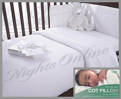 Anti Allergy Microfibre Cot Bed Duvet & Pillow Toddler Bed 4.5, 7.5 & 9.0 TOG