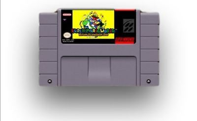 SUPER MARIO WORLD Return to Dinosaur Land - game For SNES