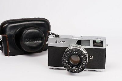 Canon Canonet + SE 45mm 1:1.9 Rangefinder Camera