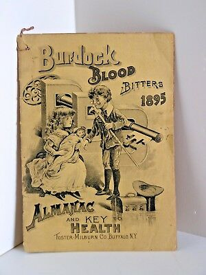 Burdock Blood Bitters 1895 Almanac