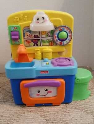 2010 Fisher Price Musical Laugh N Learn Kitchen By Mattel